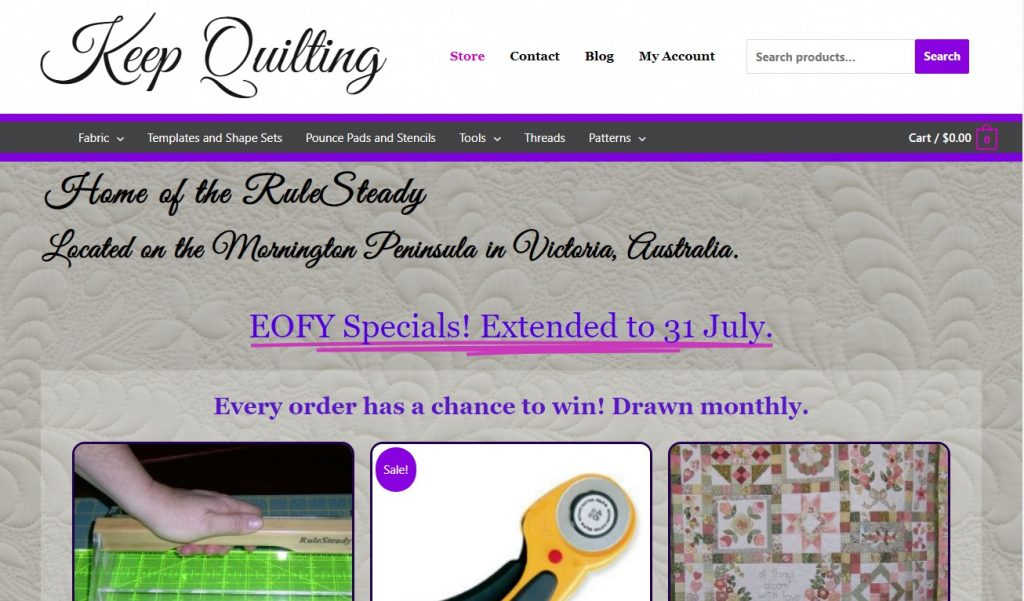 Link to Keep Quilting